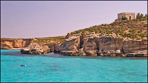 Sur l'ile de Comino ( malte)