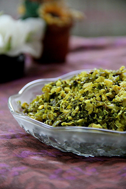 Mullangi Cheera/Radish Greens Thoran