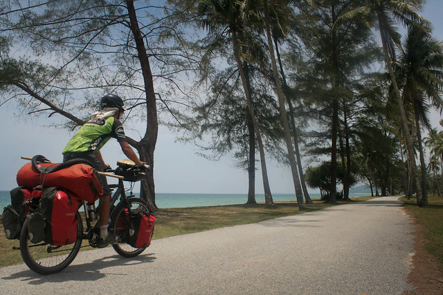 bicycle touring on the East Coast of Malaysia
