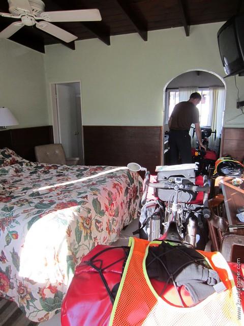 Our hotel room, Ensenada, Baja