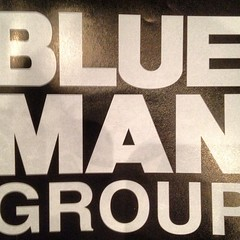 Mar 1, 2012 - saw Blue Man Group at Cowan with Kendall, Karli, Anna, and Elliott