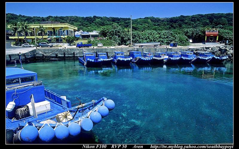恆春香蕉灣-懷念初夏的藍