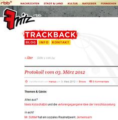 Ick hab heute jemeinsam.de im Radio vorgestellt