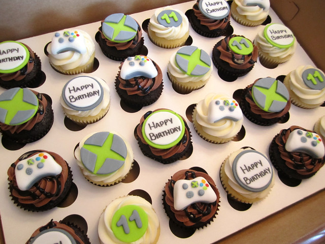 Xbox One Cake Designs : Xbox Birthday Cupcakes Explore Cutie Cakes WY s photos ...