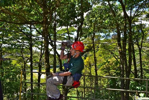 canopy tour guide costa rica