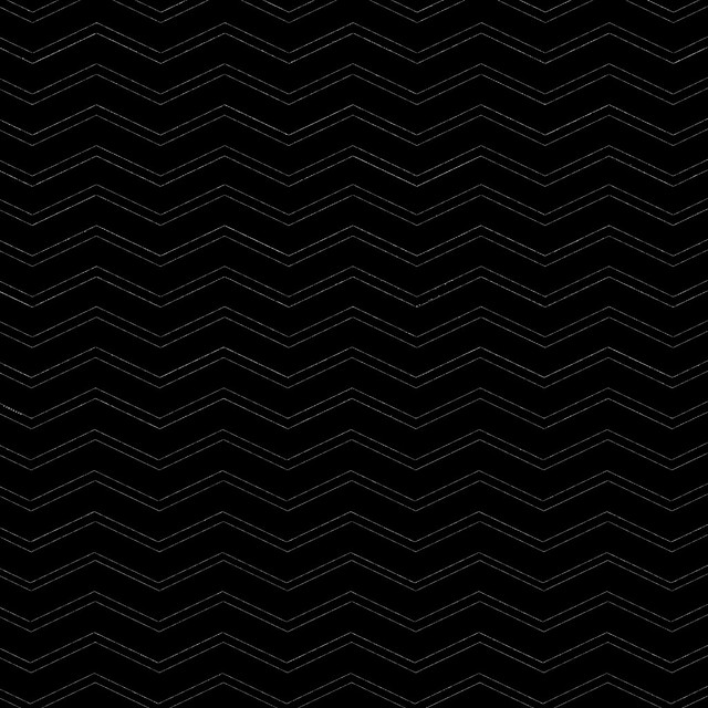 overlay STRETCH chevron 12x12 inch SQ BLACK mel stampz