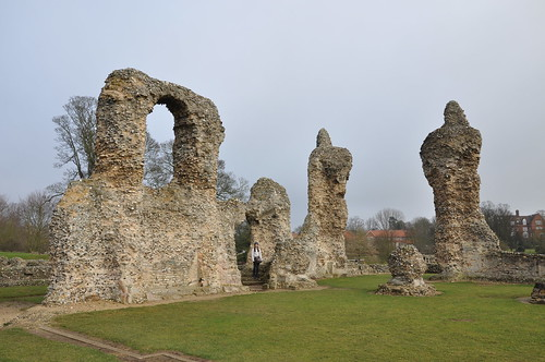 Abbey ruins in Bury
