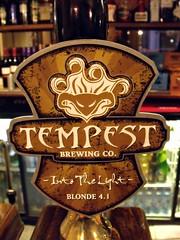 Tempest, Into The Light, Scotland