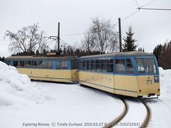 Trondheim tourist tram
