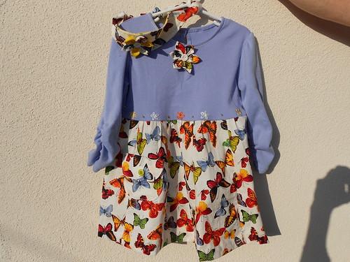 Butterfly Dress and Headband