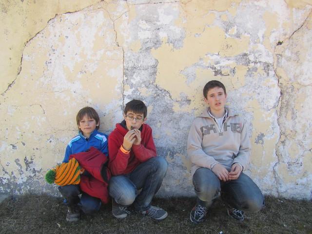 Víctor, Oscar, Ivo