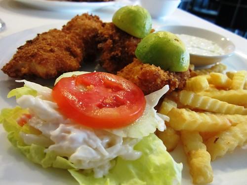 Garden - fish & chips