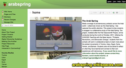 Arab Spring Project