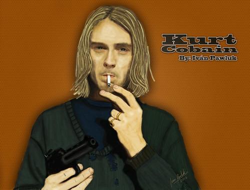 Kurt Cobain by PAWLUK IVAN