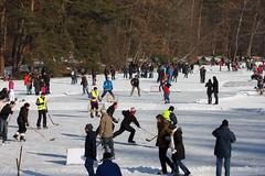 Activities on a frozen Lake