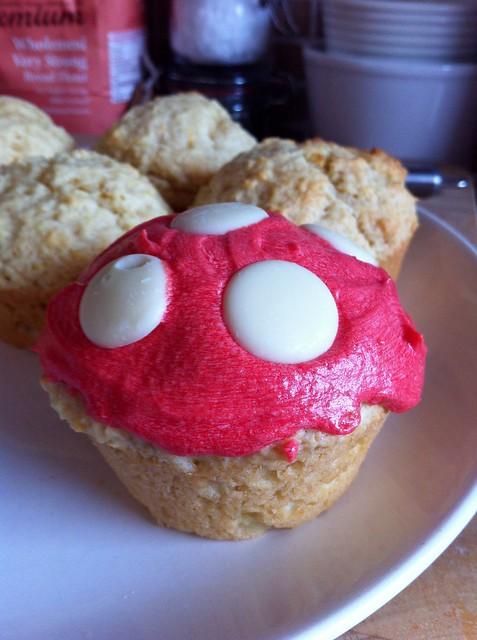 Toadstool muffin