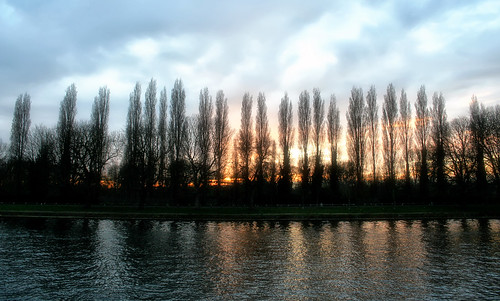 Sunset on the Thames