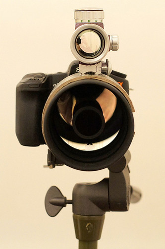 DIY:給長鏡頭加個瞄準器