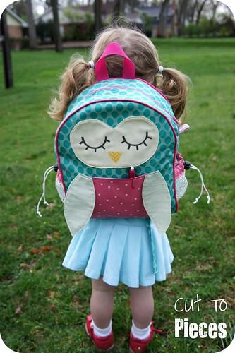 """Moda Sliced Finals - """"Owl Tag Along"""" Toddler Backpack"""