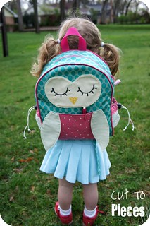 "Moda Sliced Finals - ""Owl Tag Along"" Toddler Backpack"