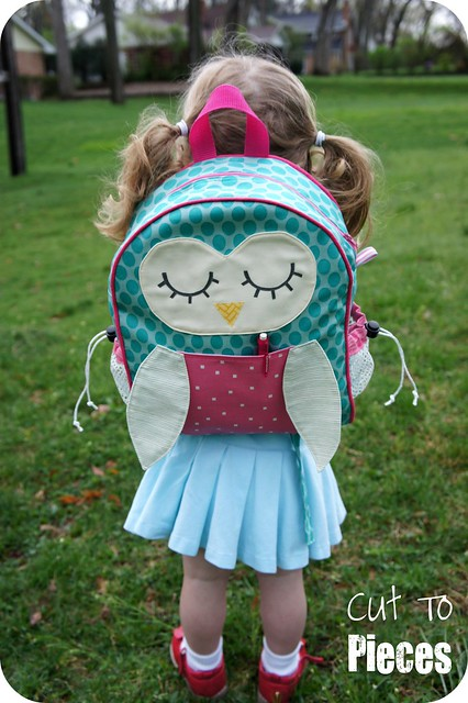 owl back sewing tutorial