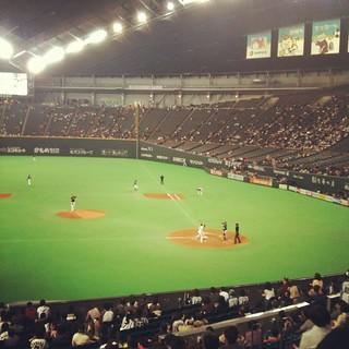 札幌ドーム オープン戦