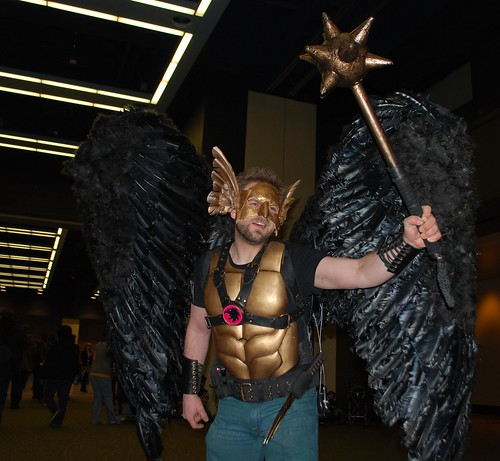 Hawkman! with flash!