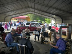 Musician's Circle at Pickens Flea Market