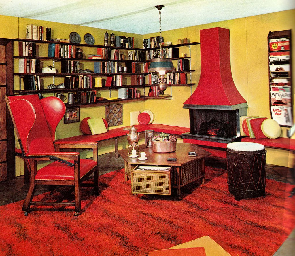 Retrospace the vintage home 15 1965 interiors for Architecture 60s