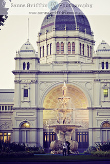 Royal exhibition building and waterfountain