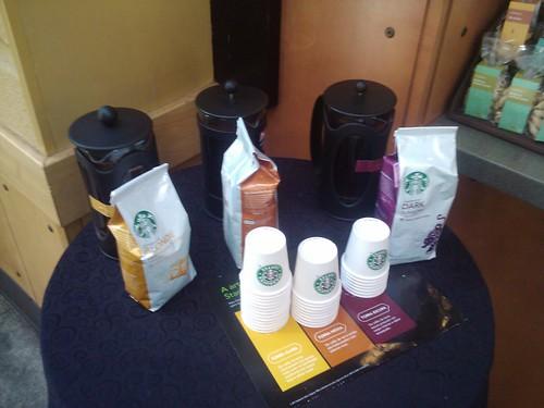 Degustação de Cafés no Starbucks