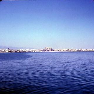 Majorca   -   Bahia de Palma   -   June 1970
