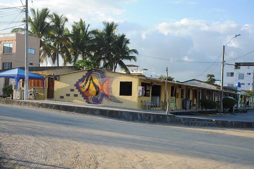 イサベラ島、Puerto Villamilの町