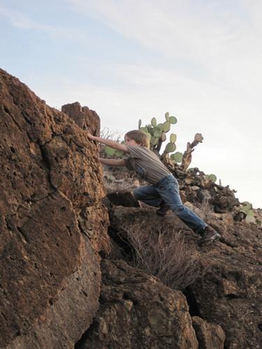 Rock Climbing (Gtums age 6)