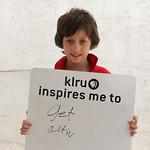 KLRU inspires me to ... get active