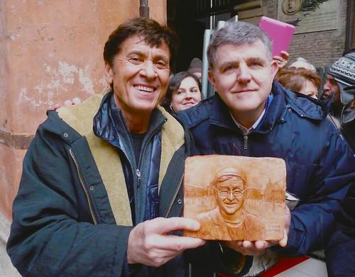 presentato il ritratto di Lucio Dalla a Morandi