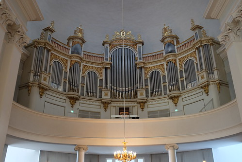 Organ, Helsinki Cathedral