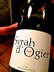 Syrah d'Ogier - Restaurante Mina - Bilbao