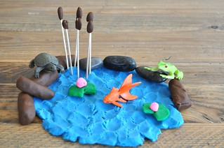 Play Dough Pond