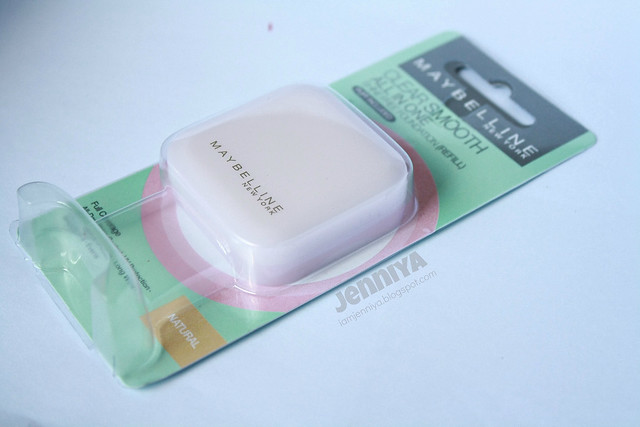 IamJenniya: Review: Maybelline Clear Smooth All-In-One Shine Free ...
