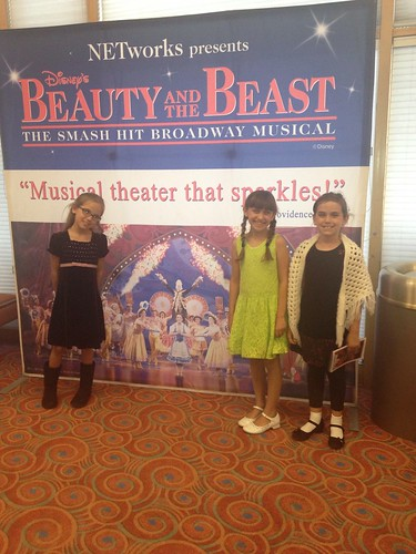 The Girls at their first Broadway show
