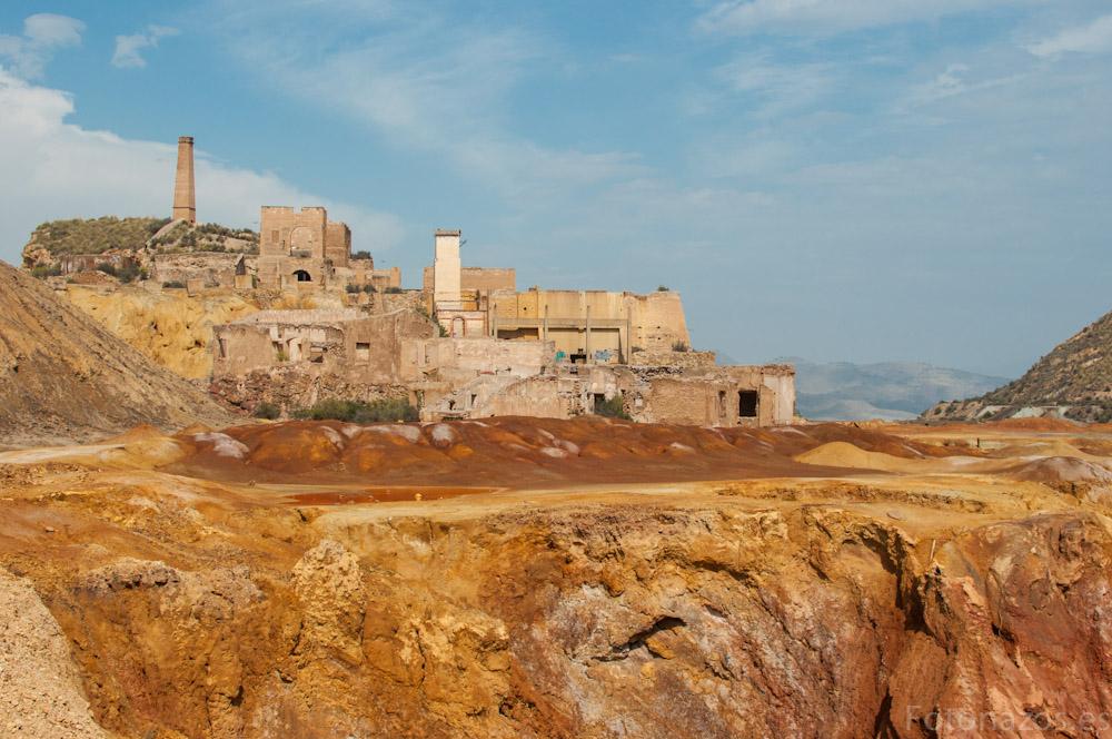 Fotos de Las minas abandonadas de Mazarrón