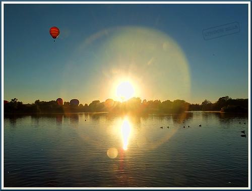 newzealand lake water weather sunrise landscape fuji balloon masterton wairarapa henleylake 2013 xs1 fujifilmxs1