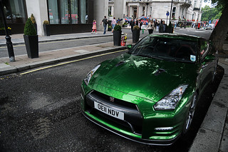 Green Nissan GT-R   Explore #385, May 12th 2013