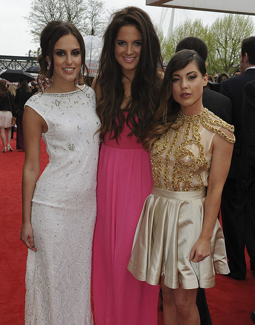 Lucy Watson, Binky Felstead and Louise Thompson