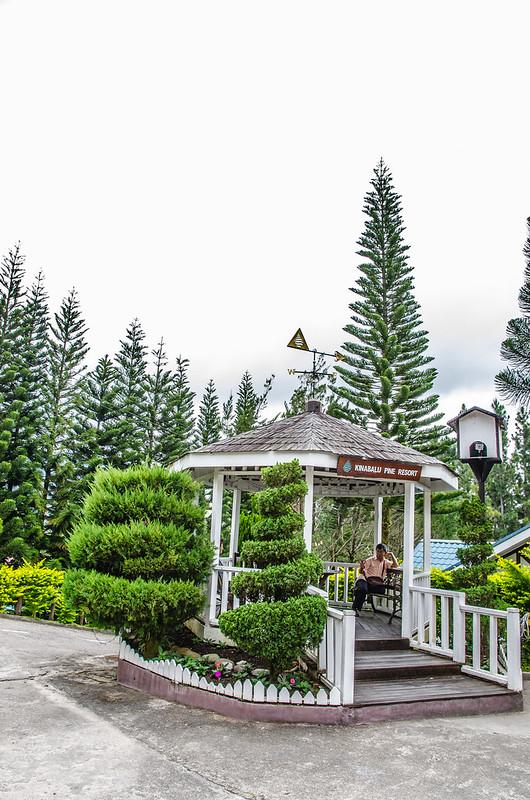 Small hut at Kinabalu Pine Resort