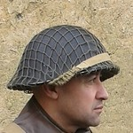 Manteau CANADIEN WW2 - Casque Tortue et pouch (s) sten- matos Corée 13269784375_f6e184e5a6_q