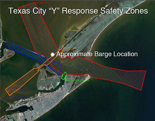 Joint response underway for ship, barge collision in Houston Ship Channel