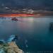 Calm at dusk by Juan C Ruiz