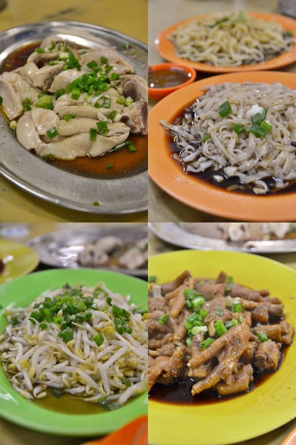 Bean Sprouts Chicken & Chicken Feet